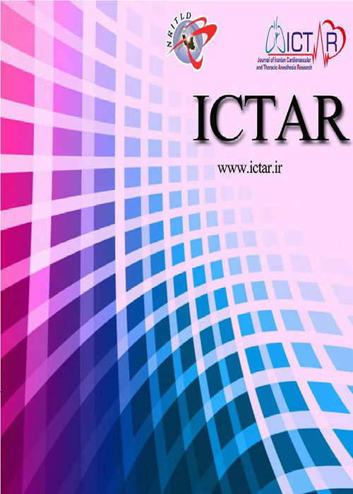 Journal of Iranian Cardiovascular and Thoracic Anesthesia Research